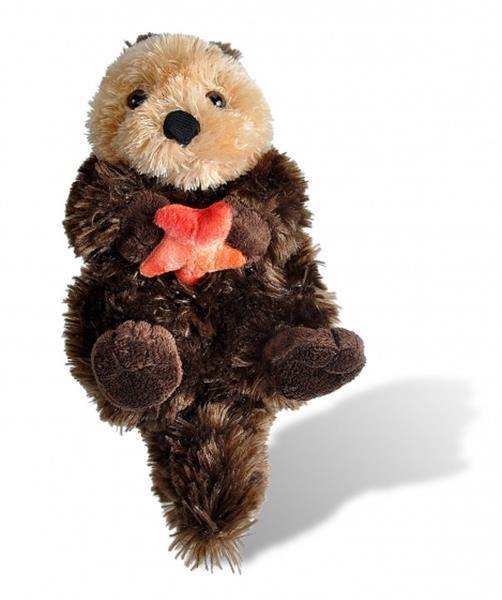 Grote foto knuffel cuddlekins smilodon 20 cm pluche bruin kinderen en baby knuffels en pluche