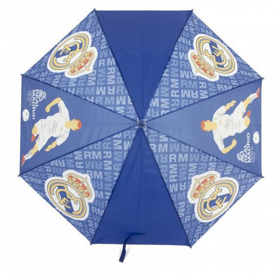 Grote foto paraplu junior 58 cm blauw geel kinderen en baby los speelgoed