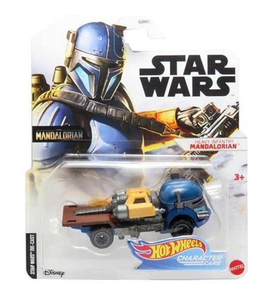 Grote foto voertuig star wars heavy infantry 7 cm blauw geel kinderen en baby los speelgoed