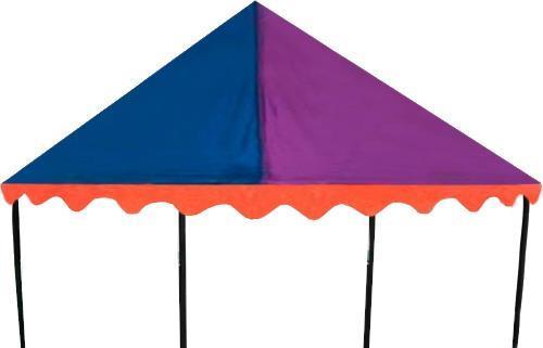 Grote foto trampoline tent canopy circus 1 83 x 2 74 meter kinderen en baby los speelgoed
