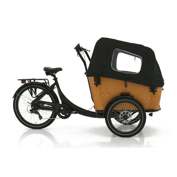 Grote foto vogue superior 3 elektrische bakfiets fietsen en brommers elektrische fietsen