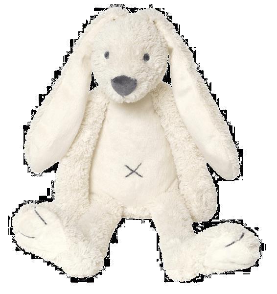 Grote foto ivory rabbit richie kinderen en baby knuffels en pluche