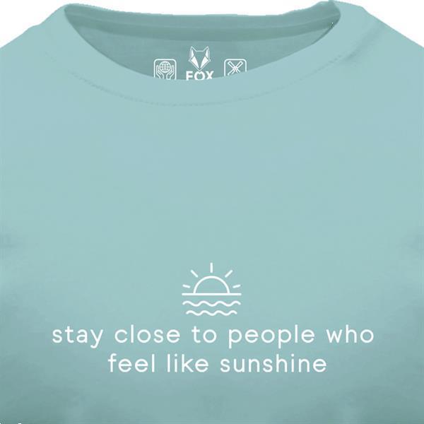 Grote foto fox originals essentials sunshine t shirt maat s kleding heren t shirts