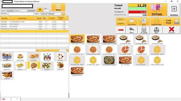 Grote foto kassa software voor horeca en retail eenmalige kosten diversen overige diversen