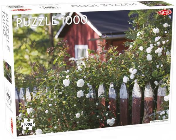 Grote foto legpuzzel finnish summer cottage 1000 stukjes kinderen en baby puzzels