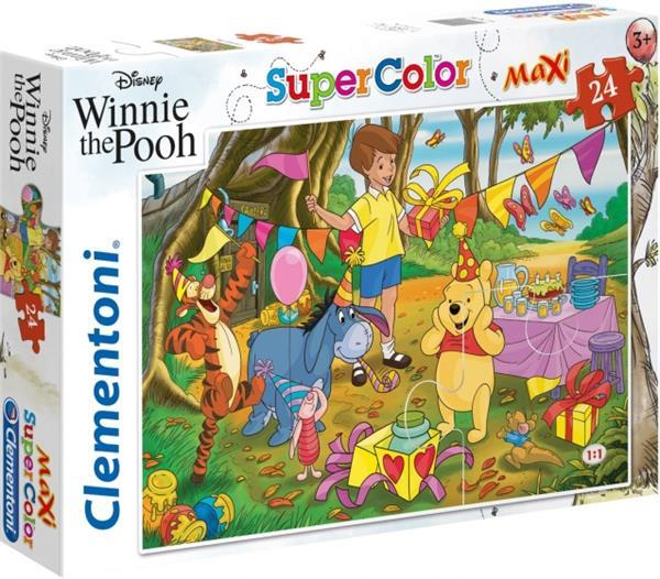 Grote foto legpuzzel maxi winnie de poeh 24 stukjes kinderen en baby puzzels