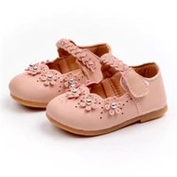 Grote foto meisjesschoen instapper met klitteband feestcollectie maat 1 kinderen en baby schoenen voor meisjes