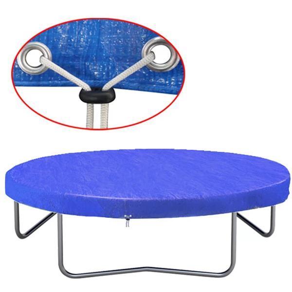 Grote foto vidaxl trampolinehoes 450 457 cm 90 g m pe kinderen en baby los speelgoed