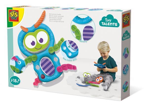 Grote foto sensory vriendje multicolor kinderen en baby speelgoed voor jongens