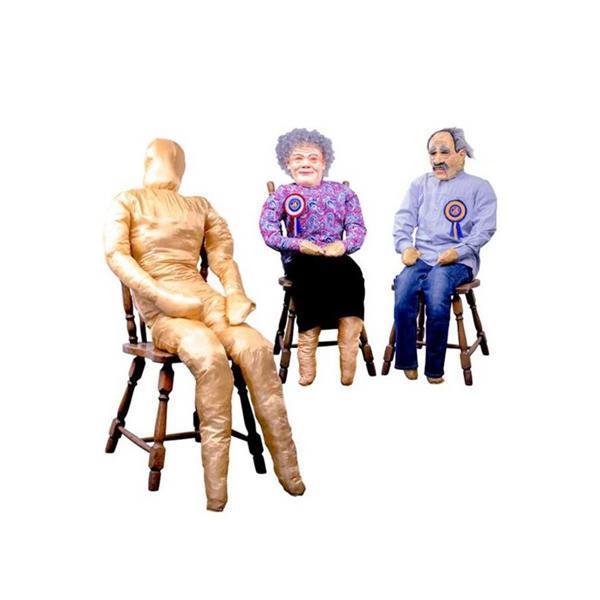 Grote foto abraham pop nodig voor een sarah of abraham verzamelen speelgoed