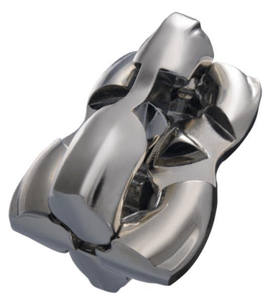 Grote foto breinbreker cast h h 11 8 cm staal zilver kinderen en baby puzzels