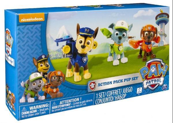 Grote foto speelset paw patrol junior groen 3 delig kinderen en baby speelgoed voor jongens