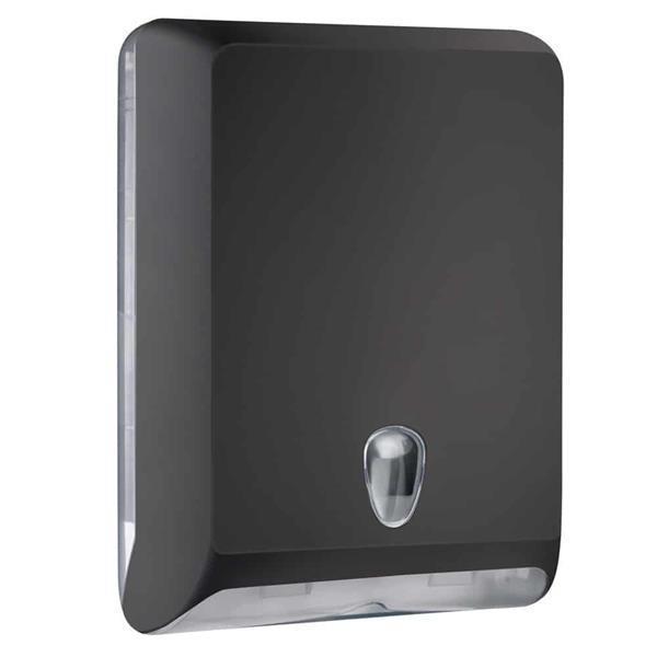 Grote foto marplast papieren handdoekjes dispenser a83010ene zwart doe het zelf en verbouw sanitair