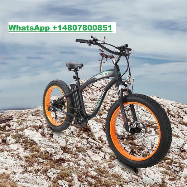 Grote foto fat tire mountain beach electric bike fietsen en brommers sportfietsen