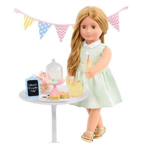 Grote foto our generation garden party kinderen en baby poppen