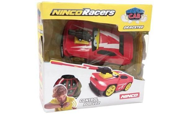 Grote foto racers watch car dragster 20 cm rood kinderen en baby los speelgoed