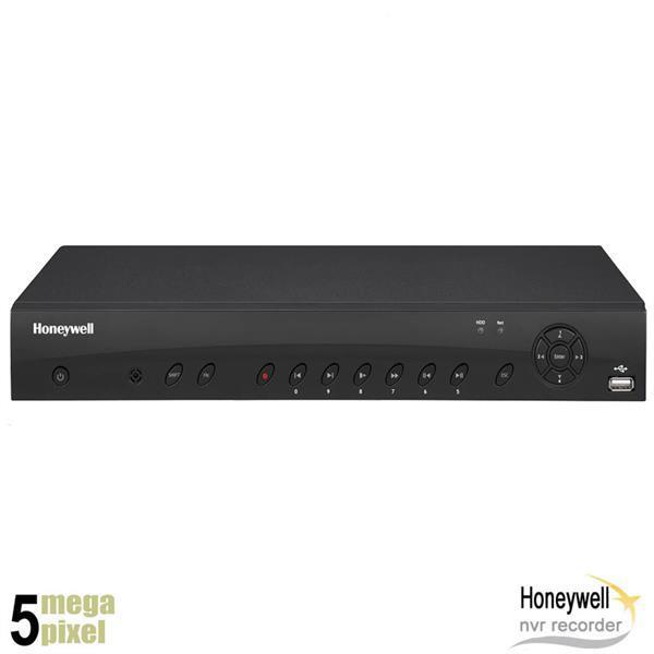Grote foto honeywell 5 megapixel 8 kanaals nvr recorder audio 8x po audio tv en foto dvd spelers en dvd recorders