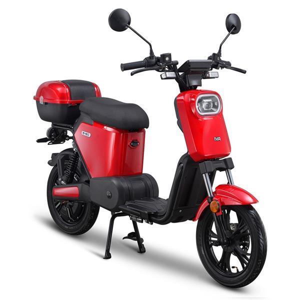 Grote foto iva e go s2 rood bij central scooters kopen 1299 00 of fietsen en brommers scooters