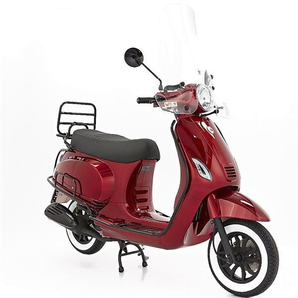 Grote foto dts milano limited candy red bij central scooters kopen 1 fietsen en brommers scooters