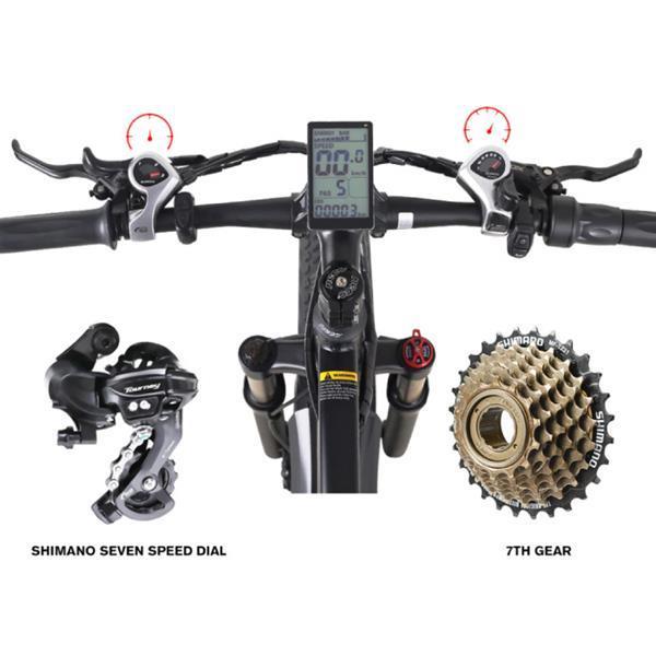 Grote foto mx01 vouwbare elektrische fiets off road smart e bike 50 fietsen en brommers onderdelen
