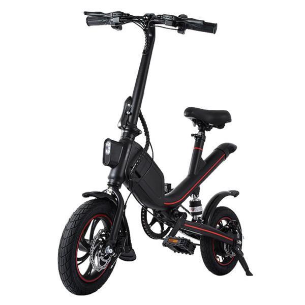 Grote foto vouwbare elektrische fiets off road smart e bike 250w fietsen en brommers onderdelen