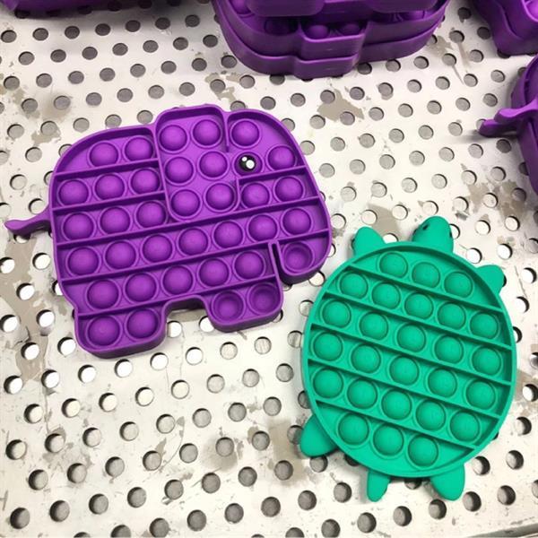Grote foto pop it fidget anti stress speelgoed bubble toy siliconen w kinderen en baby overige