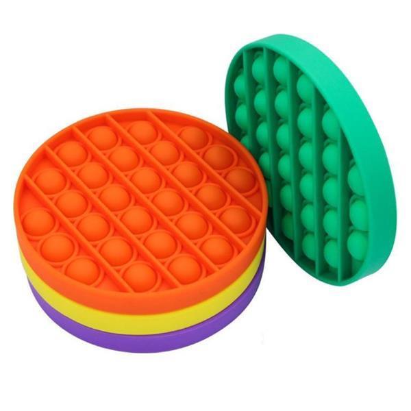 Grote foto pop it fidget anti stress speelgoed bubble toy siliconen h kinderen en baby overige