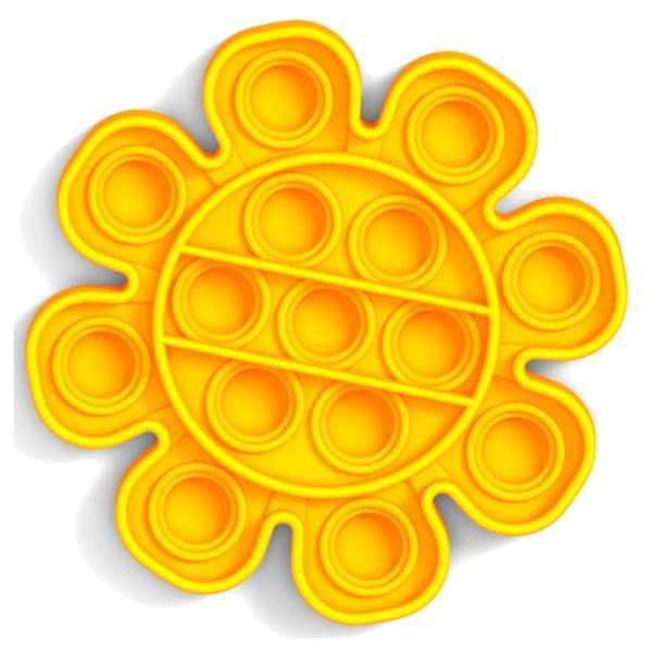 Grote foto pop it fidget anti stress speelgoed bubble toy siliconen b kinderen en baby overige