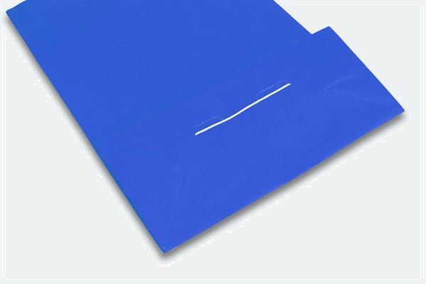 Grote foto papieren draagtas blauw 420 x 370 mm zakelijke goederen overige zakelijke goederen