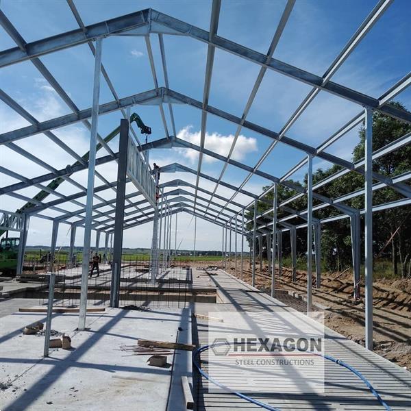 Grote foto prefabricated steel structures diensten en vakmensen bouw en reparatie