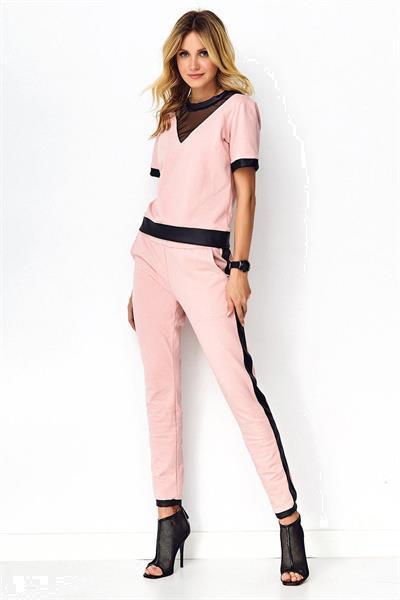 Grote foto set model 141852 makadamia kleding dames broeken en pantalons