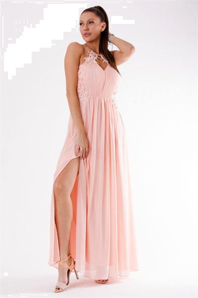 Grote foto long dress model 125238 yournewstyle kleding dames jurken en rokken