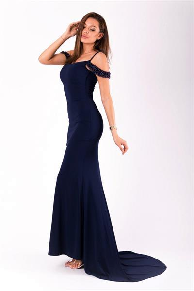 Grote foto long dress model 125261 yournewstyle kleding dames jurken en rokken