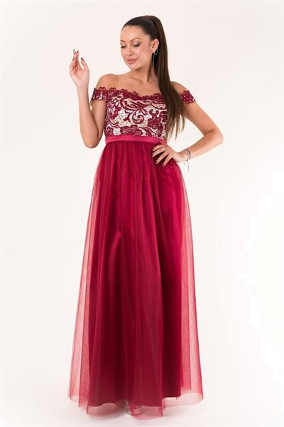 Grote foto long dress model 134082 yournewstyle kleding dames jurken en rokken