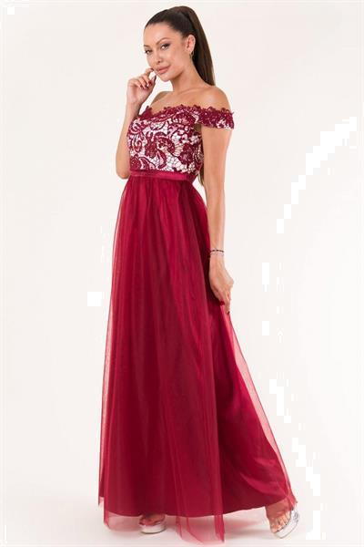 Grote foto long dress model 134082 yournewstyle kleding dames jurken en rokken