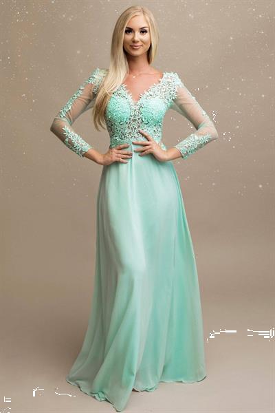 Grote foto long dress model 148123 yournewstyle kleding dames jurken en rokken