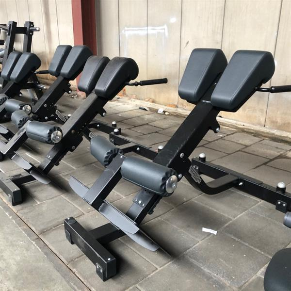 Grote foto technogym lower back bench pure strength back extension sport en fitness fitness