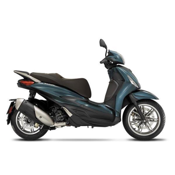 Grote foto piaggio new beverly 300 e5 blu oxygen bij central scoote fietsen en brommers scooters