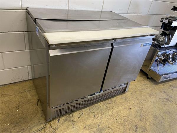 Grote foto rvs afinox saladette koelwerkbank saladiere 99 5 cm 230v hor diversen overige diversen