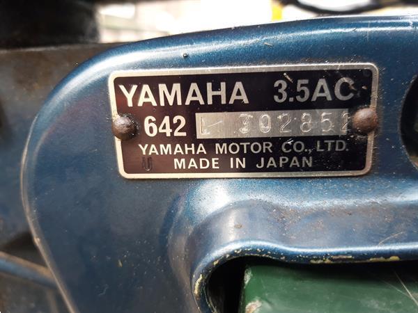 Grote foto yamaha 3 5 pk met luchtkoeling watersport en boten buiten en binnenboordmotoren