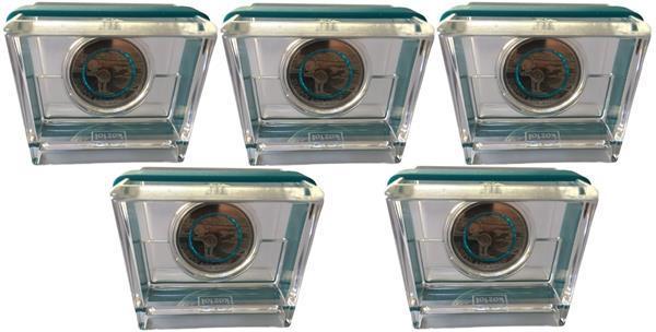 Grote foto duitsland 5 euro 2020 polaire zone set van 5 proof verzamelen munten overige
