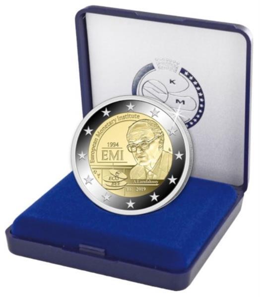 Grote foto belgi 2 euro 2019 emi proof verzamelen munten overige