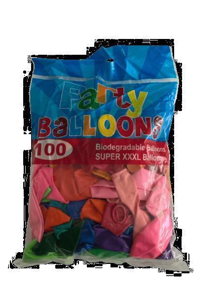 Grote foto ballonnen xl colormix 100 stuks hobby en vrije tijd feestartikelen