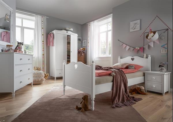Grote foto love kajuitbed bedbank met lades wit kinderen en baby complete kinderkamers