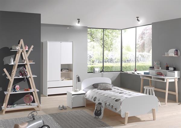 Grote foto kiddy 1 persoonsbed in 4 kleuren kinderen en baby complete kinderkamers