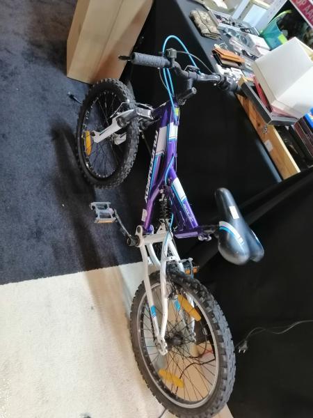 Grote foto kinder mouten bike blauw zie foto fietsen en brommers onderdelen