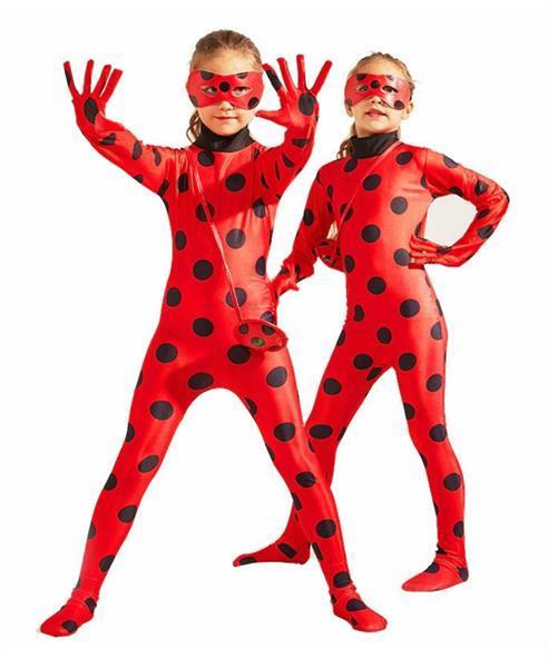 Grote foto ladybug kostuum gratis tasje masker 5 6 jaar kledingma kinderen en baby overige