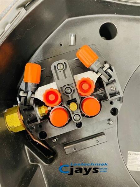Grote foto kemppi fastmig pulse 450 met dubbele koffer doe het zelf en verbouw lasapparaten