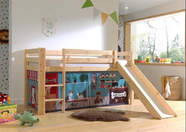 Grote foto speelgordijnen pet shop kinderen en baby complete kinderkamers