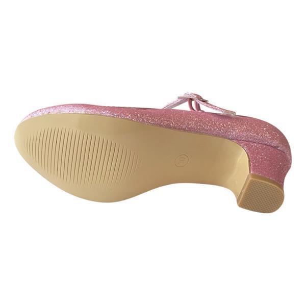 Grote foto spaanse schoenen roze glitter nieuw maat 25 binnenmaat 16 kinderen en baby schoenen voor meisjes
